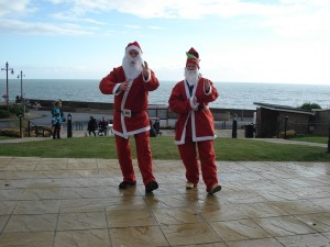 Father Christmas tai chi